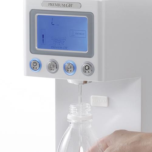 Generador de agua hidrogenada botella