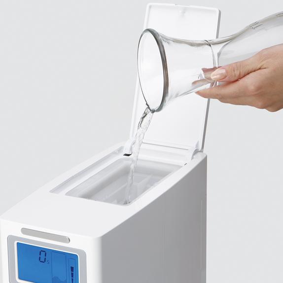 Generador de agua hidrogenada depósito