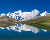 Montañas tribu hunza pakistan
