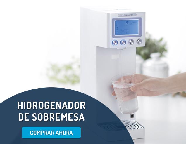 Comprar hidrogenador de agua de sobremesa Premium GW